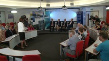 Anglia Late Edition has held an EU referendum debate in Cambridge.