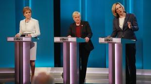 Leader of the SNP Nicola Sturgeon, Shadow business secretary Angela Eagle and Energy Secretary Amber Rudd,