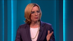 Amber Rudd repeatedly attacked Boris Johnson.