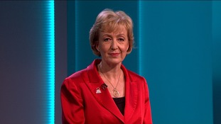 Andrea Leadsom said leaving was the only way to control immigration.