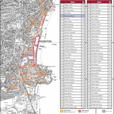 The road closures in Paignton are extensive