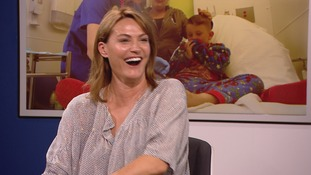 Actress Sarah Parish tells us about her fundraiser for new children's trauma unit