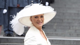 Princess Michael of Kent arrives at St Paul's Cathedral