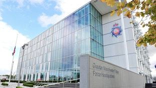 The headquarters of Greater Manchester Police.