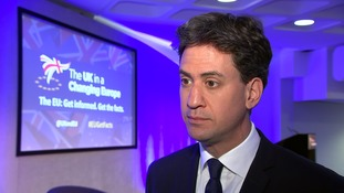 Ed Miliband accuses Brexit camp of 'fraud' on British people