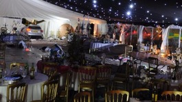 Businessman jailed after crashing through black tie marquee