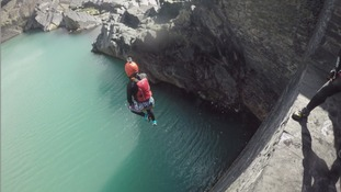 Coasteering at the Blue Lagoon