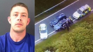 Man jailed for 150mph car chase on A1 with 3-year-old in back seat