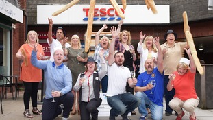 Supermarket syndicate from Chester celebrate £1m Lotto win