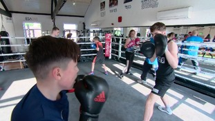 Boxers at Tommy Coyle's gym in Hull held a minutes silence for Ali