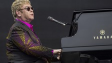 Elton John performs live on stage during his 'Wonderful Crazy Night Tour 2016' at Domplatz on June 4, 2016 in Erfurt, Germany.