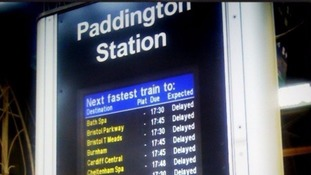 Chaos at Paddington as train fire forces lines to shut