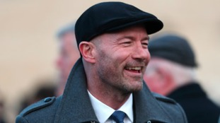 Former footballer and TV pundit Alan Shearer
