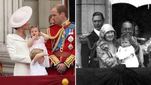 Princess Charlotte and the Royal family