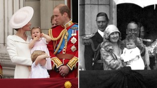 Princess Charlotte and the Royal family