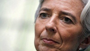 Former French Finance Minister Christine Lagarde