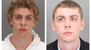 Brock Turner was jailed for six months for rape
