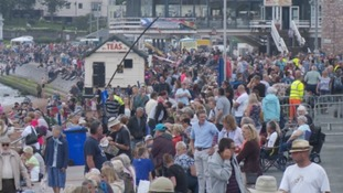 Crowds at Torbay Air Show