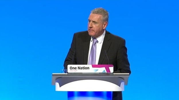 Shadow Northern Ireland secretary Vernon Coaker