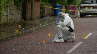 Police were called to the scene on Hope Street in Lower Broughton at around 7.45pm on Friday.