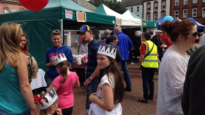 Street party in Carlisle for Queens birthday Border ITV News