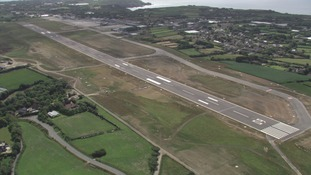 Guernsey's current runway
