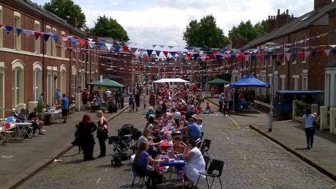 Street party continues in Carlisle for Queens birthday Border