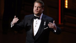 James Corden opens Tony Awards with powerful tribute to Orlando shooting victims
