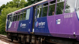 Rail services between Hazel Grove, Stockport, and Buxton are suspended until at least Wednesday.