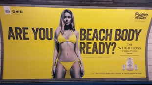 'Sexist' posters banned on Tube and bus network