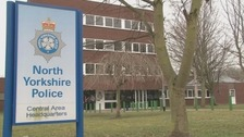 Exterior shot of North Yorkshire Police headquarters