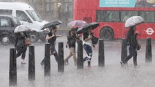 There was flooding last week in parts of London after heavy rain