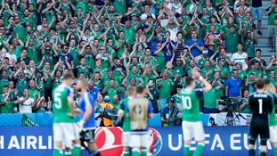 Northern Ireland lost 1-0 to Poland in Sunday's game.