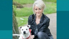 Claire Riley pictured with a different dog