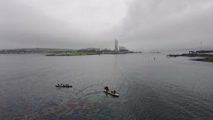 Larne oil spill