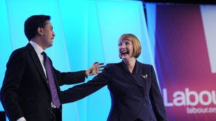 Ed Miliband and Harriet Harman close the Labour Party conference