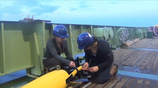 Researchers will be using underwater robots to monitor ocean conditions.