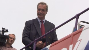 Farage warns of security risks from uncontrolled immigration, as he tours Thanet