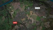 The A695 Crawcrook bypass