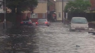 Flooding in Wolverhampton last week