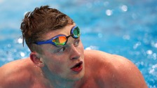 Peaty is one of Team GB's biggest hopefuls ahead of the Olympic Games in Rio this summer.