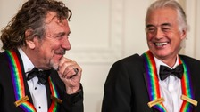 Robert Plant (left) and Jimmy Page (right) have been called to the case as defendants.