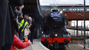 Fans prepare to welcome iconic 'Flying Scotsman' to Wales
