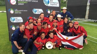Jersey's cricket team following promotion