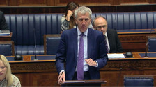 Finance Minister Máirtín Ó Muilleoir made the announcement on Tuesday