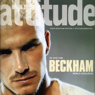 William follows personalities like David Beckham in appearing in the monthly Attitude magazine.