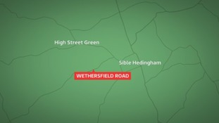 Map of Wethersfield Road