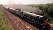 The Flying Scotsman is a world famous steam engine.