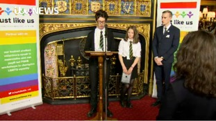 Halifax pupils speak in Parliament for School Diversity Week