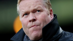 Koeman aims to bring glory days back to Everton